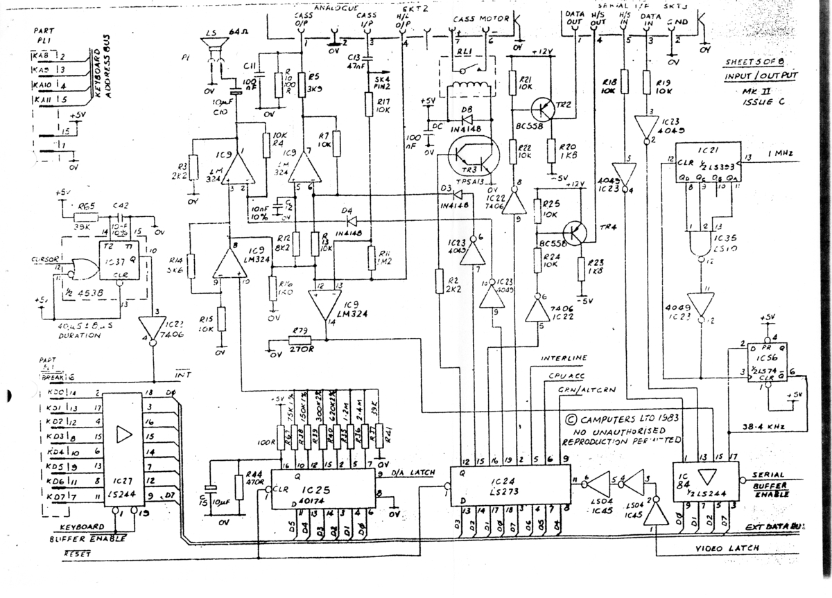 Index Of Camputerslynx Files Schematics Mother Board Circuit Lynx 128k Motherboard Diagram Page 5 8 1200 Pixels