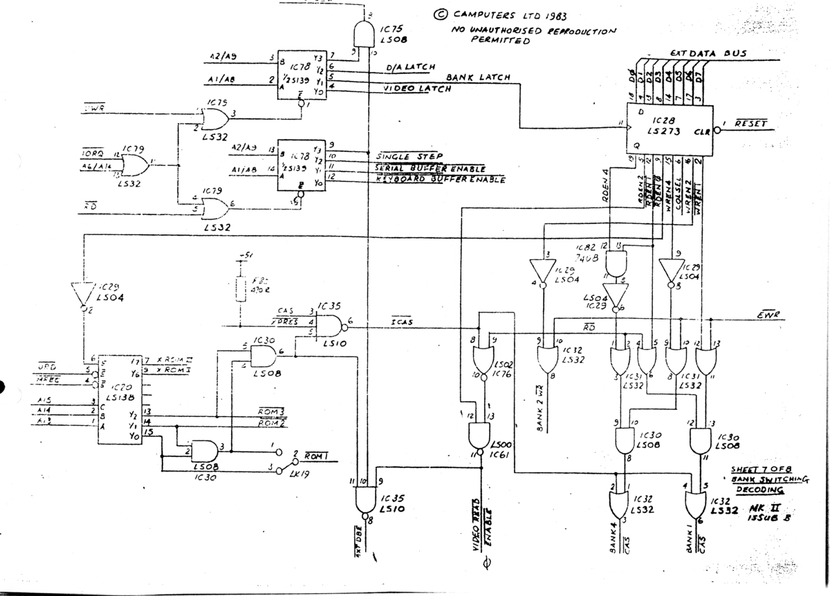 Motherboard Circuit Diagram Wiring Libraries Index 29 Computer Related Seekiccom Apps Of Camputerslynx Files Schematicslynx 128k Page 7 8 1200 Pixels